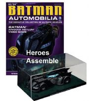 DC Batman Automobilia Collection #34 Batman Arkham Asylum Video Game Batmobile Eaglemoss